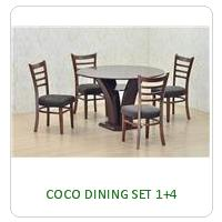 COCO DINING SET 1+4
